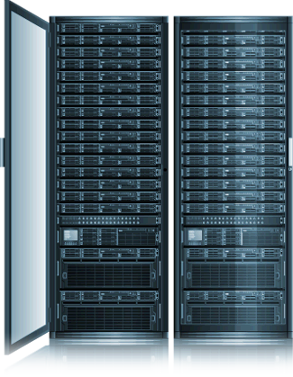HostMySite Rack Servers Illustration