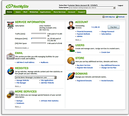 hostmysite-enhanced-control-panel