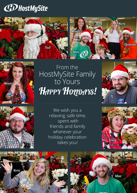 HostMySite Holiday 2015