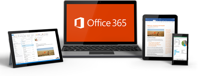 Microsoft Office 365 on mobile computing devices